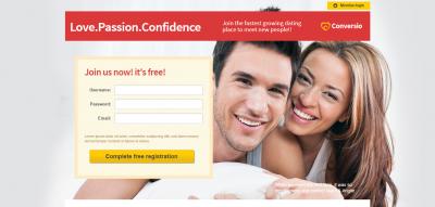 Conversio - Responsive Social & Dating Landingpage