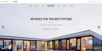 Copper - Multi-Purpose eCommerce Drupal Theme