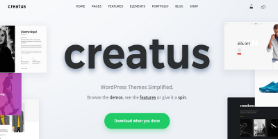 Creatus – Ultimate Multipurpose WordPress Theme