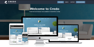 Credo - Furniture Responsive WooCommerce WordPress Theme