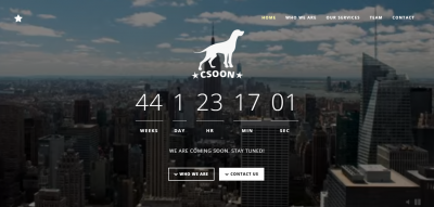 Csoon - Startup and Coming Soon Theme