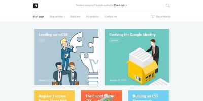 D-blog - Modern Personal Portfolio and Blog HTML Template