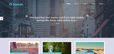 Danish - Portfolio & Blog Template