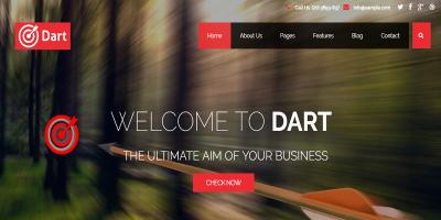 Dart - Responsive Corporate Joomla Business Template