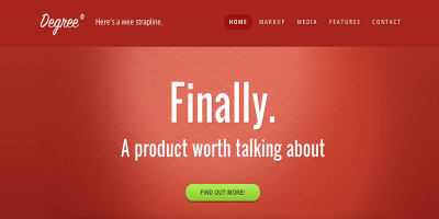 Degree° - A Responsive HTML Theme
