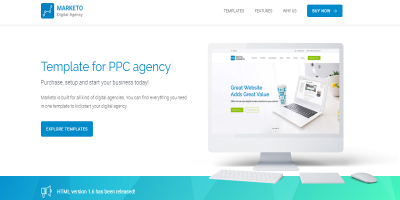 Digital Agency/SEO Agency HTML Template
