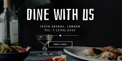 Dine - Elegant Restaurant WordPress Theme