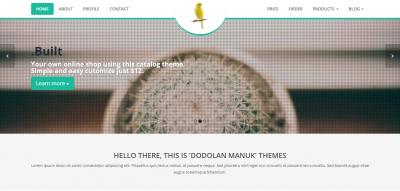 Dodolan Manuk - Catalog Theme