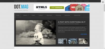 DotMag - Magazine WordPress Theme