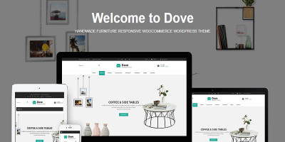 Dove - Handmade Furniture Responsive WooCommerce WordPress Theme