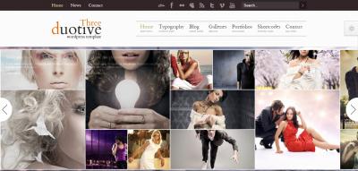 Duotive Three - Complete WordPress Template