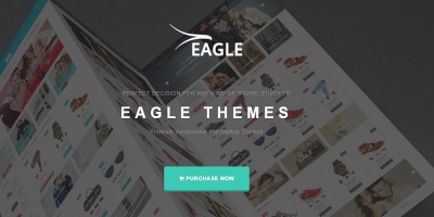 Eagle - Minimalist Shopping & Accessories Responsive Prestashop Theme