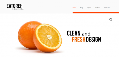 Eatoreh - Responsive and Fresh Joomla Template