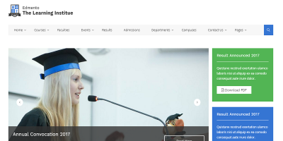 Edmento - Education WordPress Theme