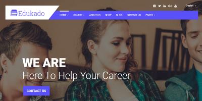 Edukado - Responsive Education & LMS WordPress Theme