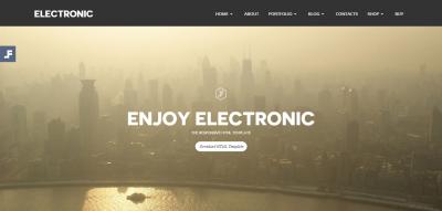 Electronic - Multi-purpose HTML