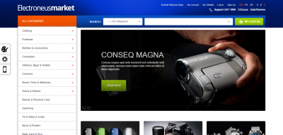 Electronuesmarket - Electronic Store Magento Theme