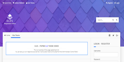 Eles - Responsive phpBB 3.2 Theme