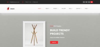 Eman - Creative Multipurpose WordPress Theme