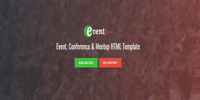 Event Point - Event, Conference & Meetup HTML5 Template