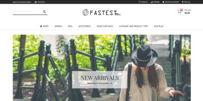 Fastest - Magento 2.2.0 themes & Magento 1. Multipurpose Responsive Theme (12 Home) Shopping,Fashion