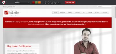 Fidelity - Responsive Joomla Business Template