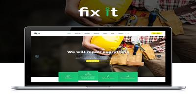 Fixit Construction - Construction Template