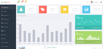 FlatLab - Bootstrap 3  Responsive Admin Template