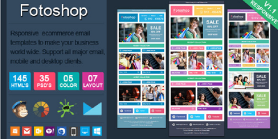 Fotoshop - Responsive Ecommerce Email Newsletter