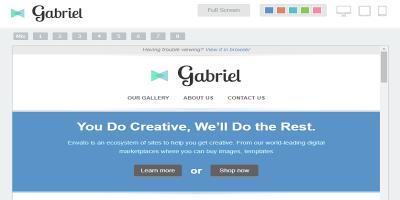 Gabriel - Responsive E-mail Template