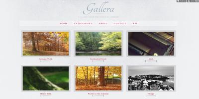 Gallera - Photo Gallery/Portfolio Theme for Tumblr