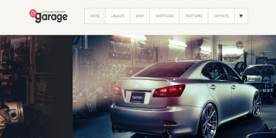 Garage - Auto Mechanic and Car Repair Workshop Theme