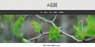 Glide - A Responsive Tumblr Theme