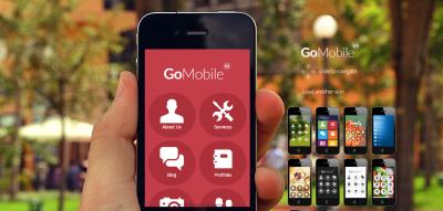 Go Mobile - Mobile WebApp Template