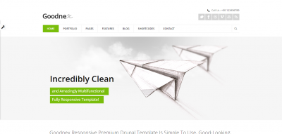 Goodnex - Responsive Drupal 7 Theme