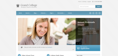 Grand College - Wordpress Theme For Education