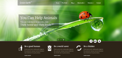 Green Earth - Environmental WordPress Theme