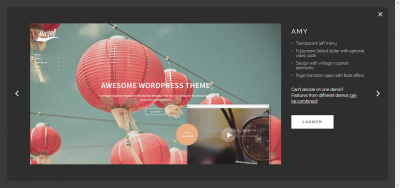 Hazel - Multi-Concept Creative WordPress Theme