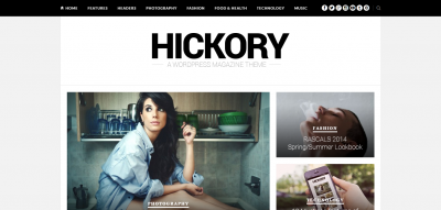 Hickory - A WordPress Magazine Theme