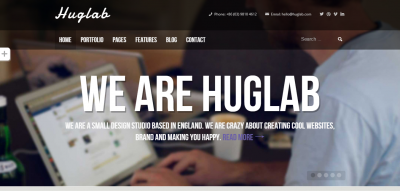 Huglab - Responsive Multi-Purpose Theme
