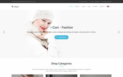 inCart - Responsive Shop Template