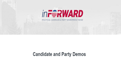 inForward - Political Campaign and Party WordPress Theme
