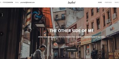 Inshot - Creative Responsive Photography  Portfolio