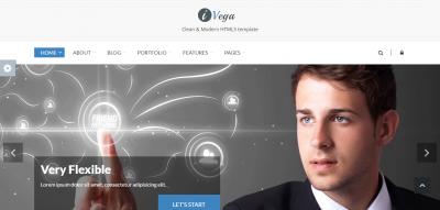 iVega - Responsive Website Template