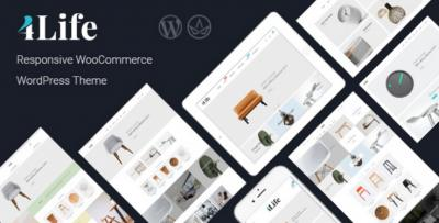 JMS 4Life - Responsive WordPress Theme