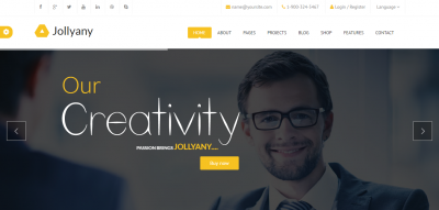 Jollyany - Corporate Multi Purpose Drupal Theme