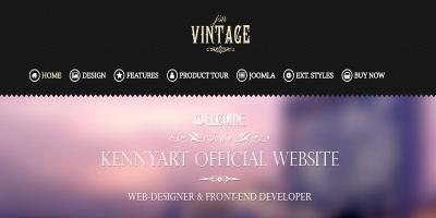 JSN Vintage - Responsive Creative Joomla Template