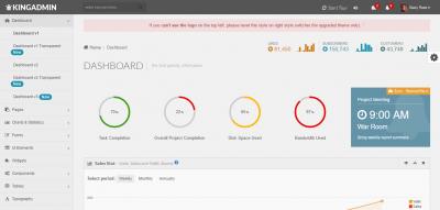 KingAdmin - Responsive Admin Dashboard