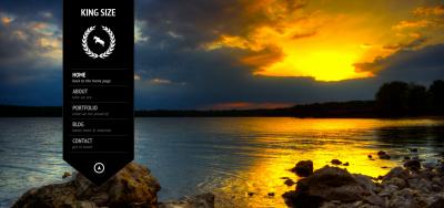 KingSize FullScreen Photography Template