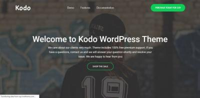 Kodo - Minimal Responsive WooCommerce Theme